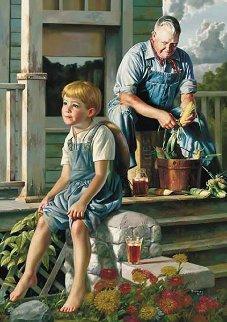Greatest Story Teller 2007 Limited Edition Print by Bob Byerley