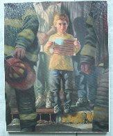 Flag 2001 Limited Edition Print by Bob Byerley - 1