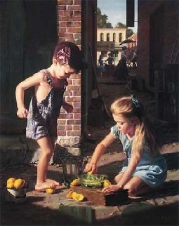 Add Water And Stir 1993 Limited Edition Print by Bob Byerley