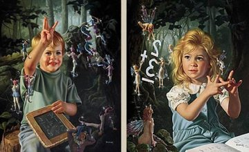 From One to Ten, Set of 2 Prints 1998 Limited Edition Print by Bob Byerley