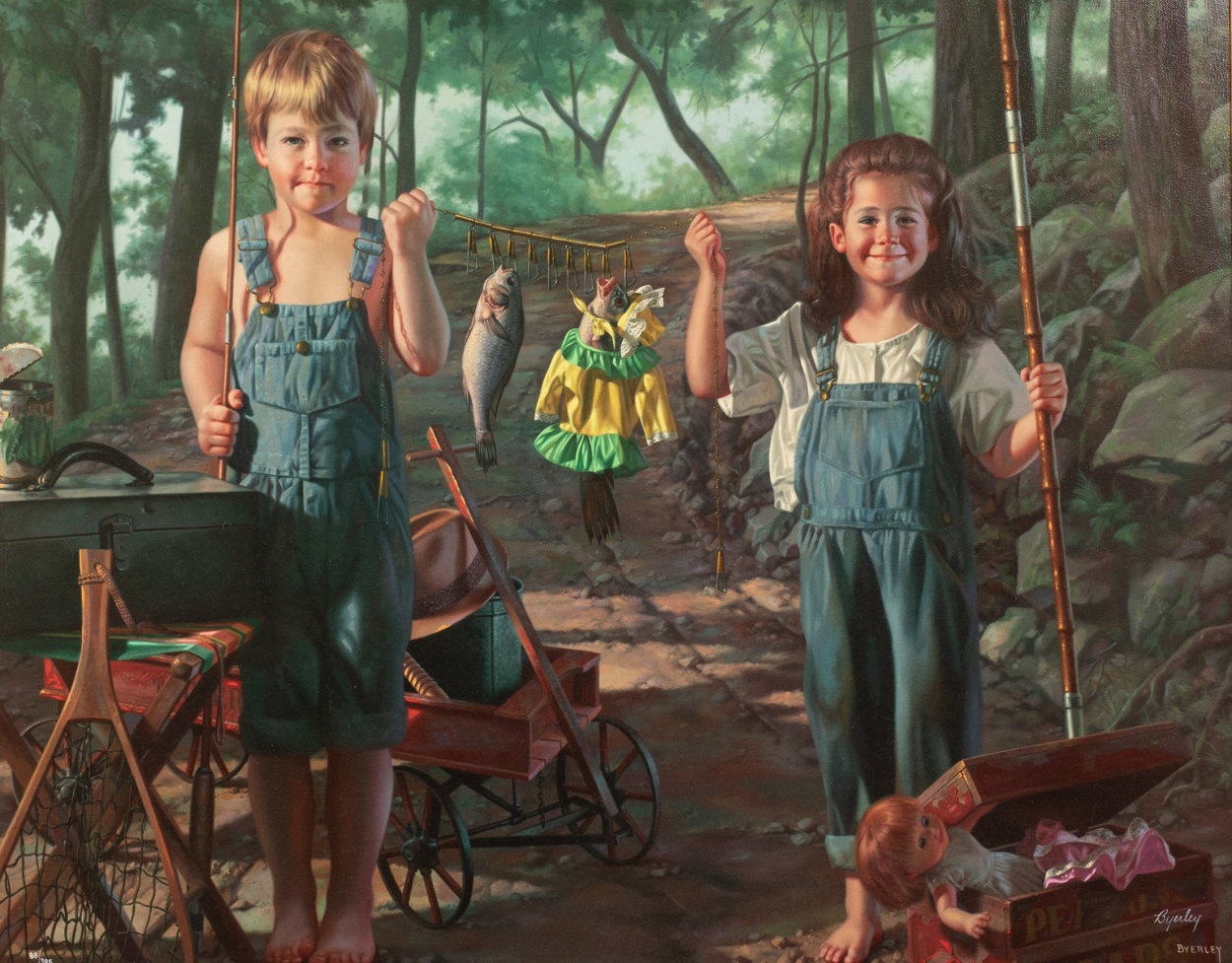 Summer Snapshot  Limited Edition Print by Bob Byerley