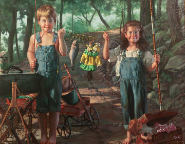 Summer Snapshot  Limited Edition Print - Bob Byerley