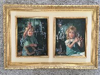 From One to Ten, Suite of 2 Paintings 1996 48x32 Huge  Original Painting by Bob Byerley - 3
