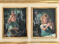 From One to Ten, Suite of 2 Paintings 1996 48x32 Huge  Original Painting by Bob Byerley - 4