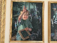 From One to Ten, Suite of 2 Paintings 1996 48x32 Huge  Original Painting by Bob Byerley - 5