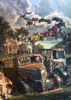 Checkered Flag Embellished Limited Edition Print by Bob Byerley - 0