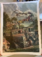 Checkered Flag Embellished Limited Edition Print by Bob Byerley - 3