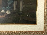 Incredible Shrinking Machine 1997 48x60 Huge  Original Painting by Bob Byerley - 2