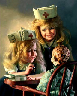 Doll Hospital Limited Edition Print - Bob Byerley