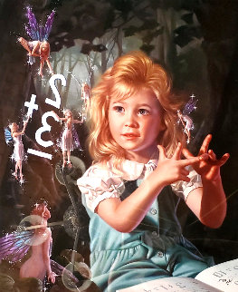 From One to Ten (Part Two) 1998 Embellished Limited Edition Print - Bob Byerley