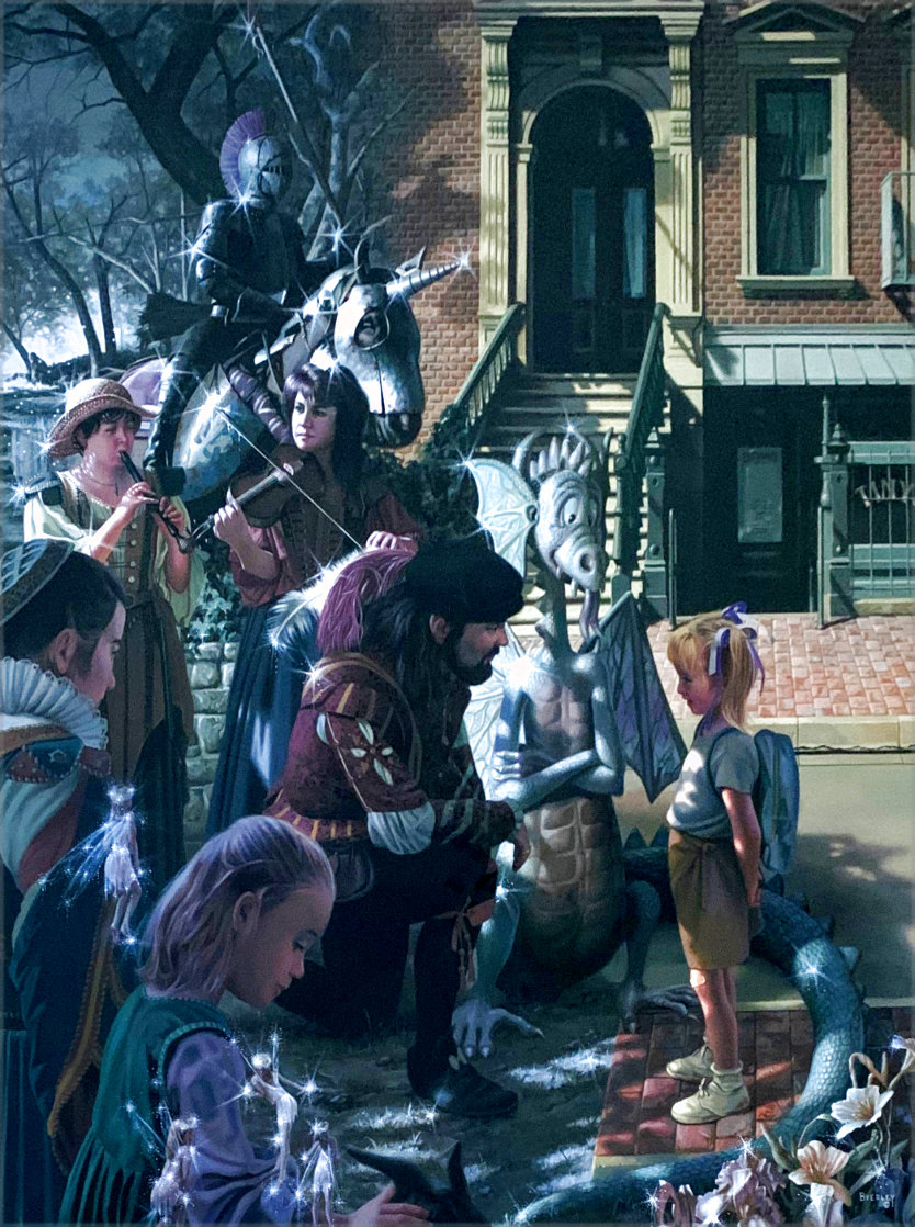 That's Why I Was Late to School AP 2010 Limited Edition Print by Bob Byerley