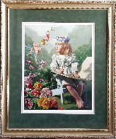 Naming of the Flowers AP Limited Edition Print by Bob Byerley - 1