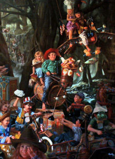 Laughing Place Embellished 1996 Limited Edition Print by Bob Byerley