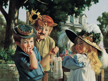 Make Ema Laugh 2001 Limited Edition Print by Bob Byerley