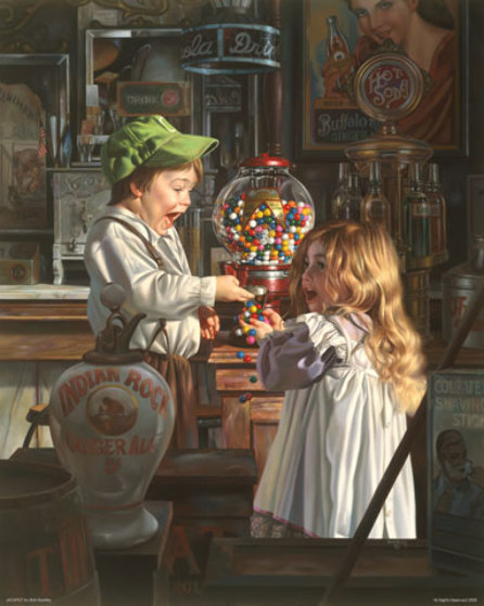 Jackpot 1993 Limited Edition Print by Bob Byerley