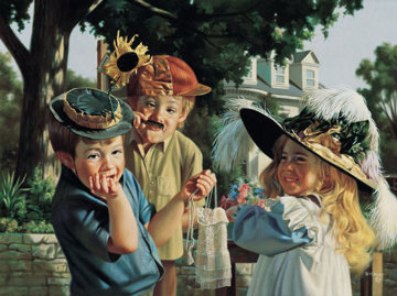 Make Em' Laugh AP 1995 Embellished Limited Edition Print - Bob Byerley