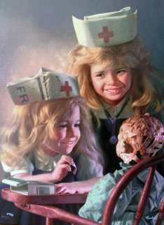 Doll Hospital 2003 Limited Edition Print by Bob Byerley