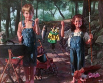 Summer Snapshot 1996 Limited Edition Print by Bob Byerley