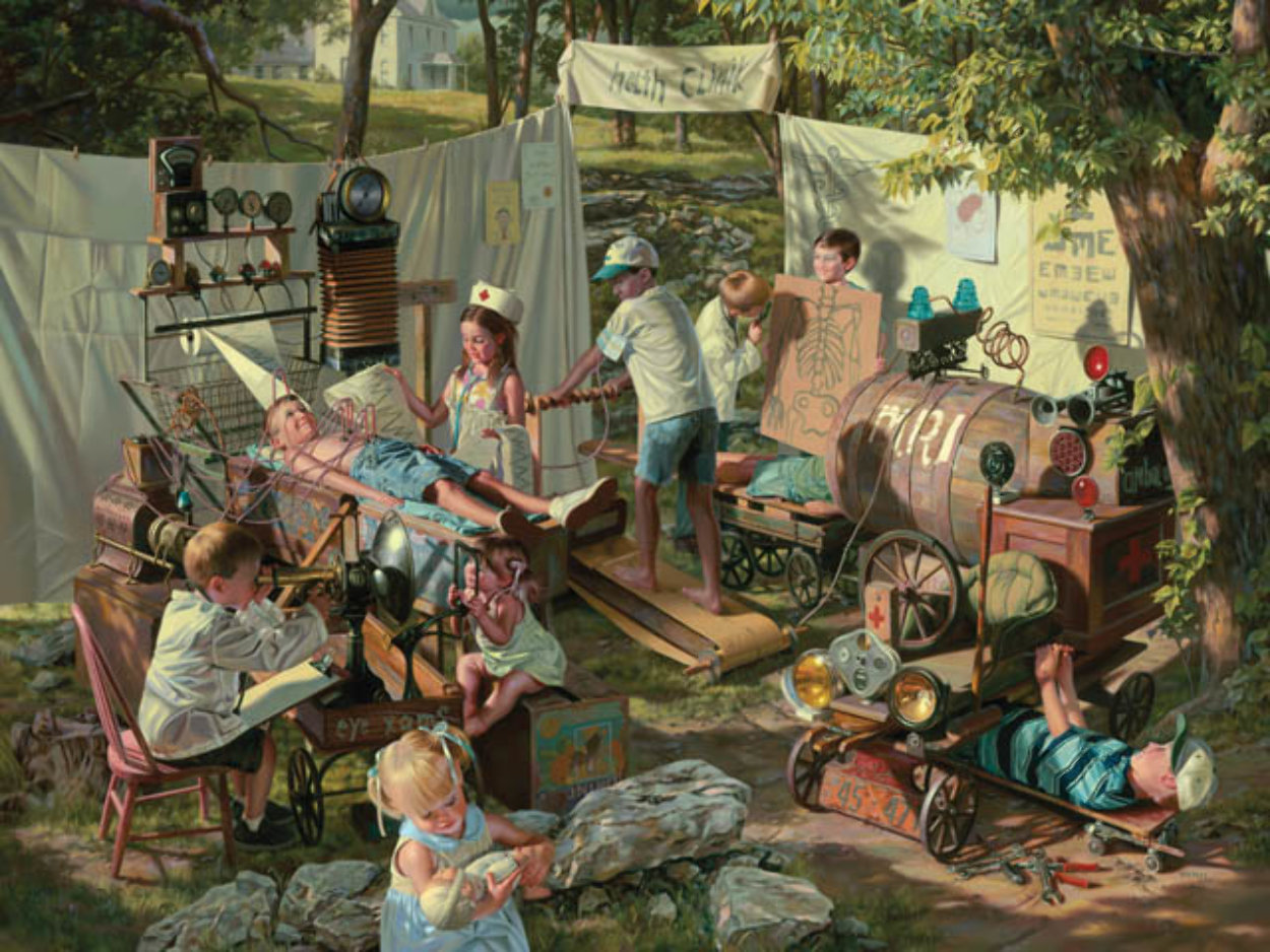 Health Clinic 2006 Limited Edition Print by Bob Byerley
