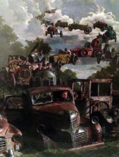 Checkered Flag Limited Edition Print - Bob Byerley