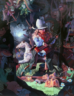 Lookout Limited Edition Print by Bob Byerley