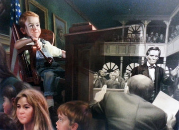 Judicial Decision 2000 Limited Edition Print - Bob Byerley