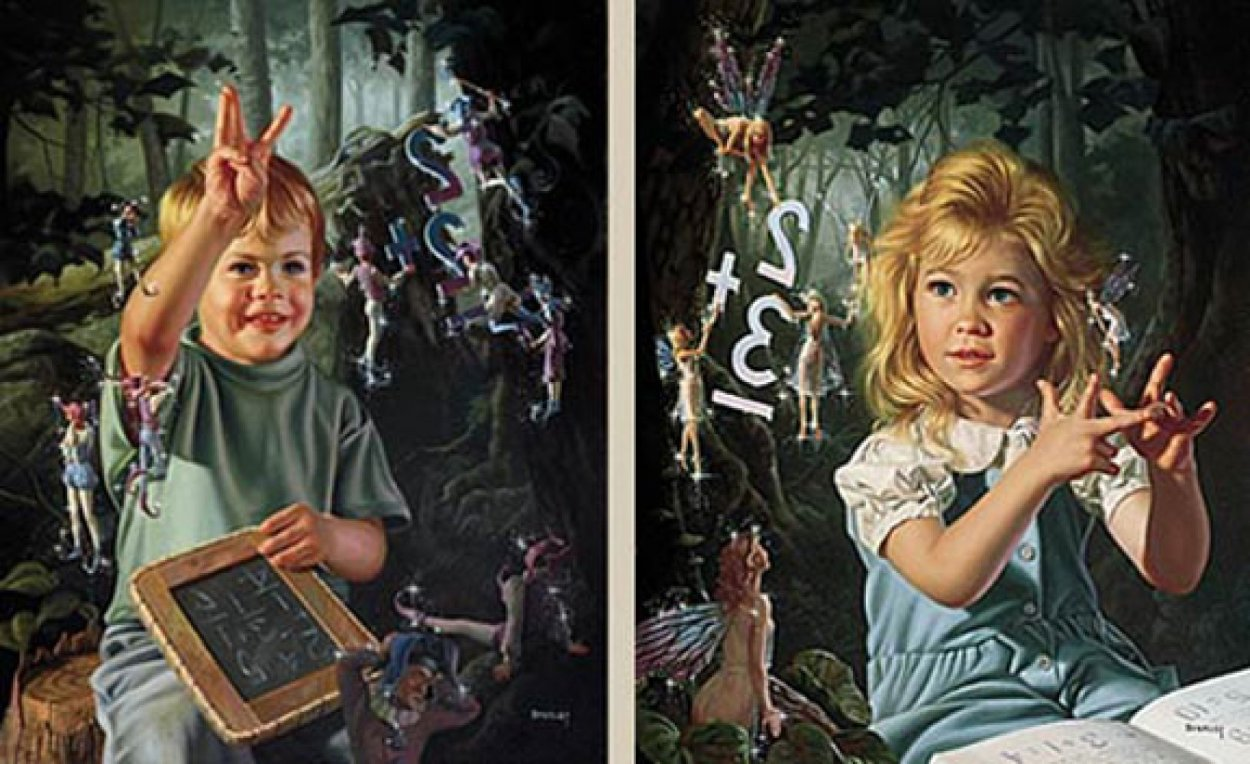 From One to Ten Set of 2 prints Limited Edition Print by Bob Byerley