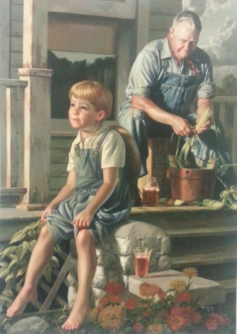 Greatest Story Teller Limited Edition Print by Bob Byerley