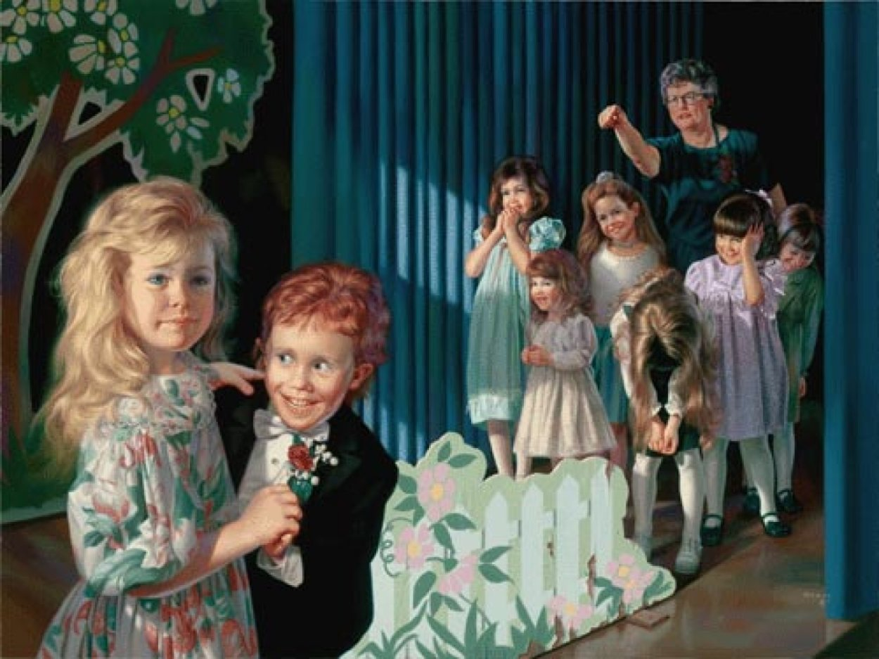 Dance Recital 1999 Embellished Limited Edition Print by Bob Byerley