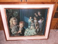 Dance Recital 1999 Embellished Limited Edition Print by Bob Byerley - 1