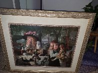 Passages Embellished 1998 Limited Edition Print by Bob Byerley - 1