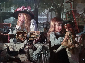 Passages Embellished 1998 Limited Edition Print by Bob Byerley