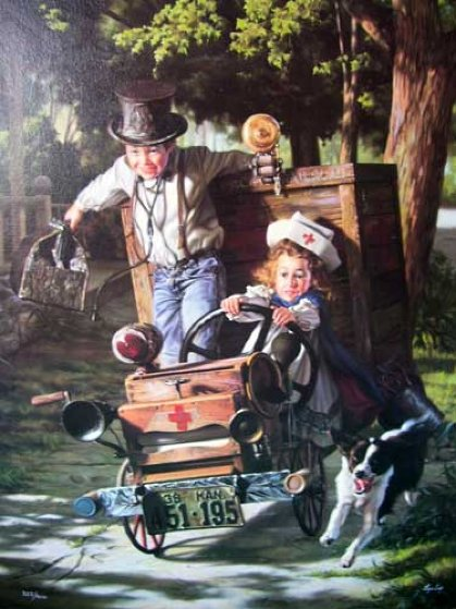 Help on the Way 1993 Limited Edition Print by Bob Byerley