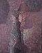 Untitled Figure 1980 29x35 Original Painting by Byron Galvez - 0