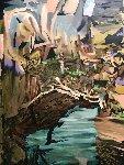 Allure of the Living Words  2015 68x48 Original Painting - Jose Cabrera