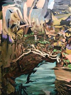 Allure of the Living Words  2015 68x48 Super Huge Original Painting - Jose Cabrera