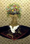 Anointing  (Relic Series) 2014 73x49 Original Painting - Jose Cabrera