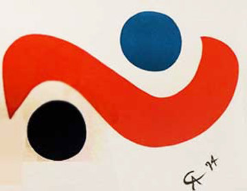 Skybird 1974 (Braniff Airplines)  Limited Edition Print by Alexander Calder