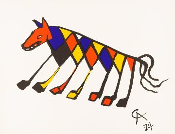 Beastie (Braniff Airlines) 1974 Limited Edition Print by Alexander Calder