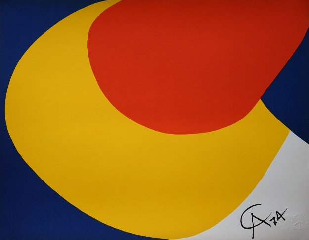 Convection (Braniff Airlines) 1974 Limited Edition Print by Alexander Calder