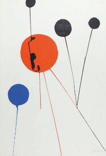 Untitled Lithograph Limited Edition Print - Alexander Calder