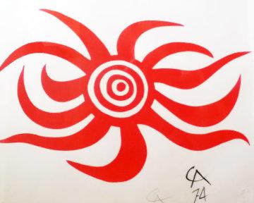 Flying Colors, 6 Lithographs  Limited Edition Print - Alexander Calder