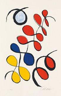 Boules De Coulen Limited Edition Print - Alexander Calder