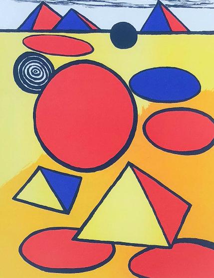 Pyramids AP 1975 Limited Edition Print by Alexander Calder