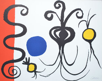 Trois Oignons 1965 Limited Edition Print by Alexander Calder