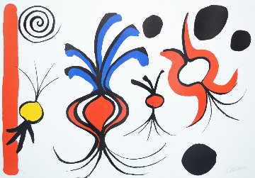 Quatre Onions Limited Edition Print - Alexander Calder