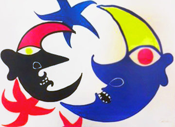 Two Moons (Les Deux Lunes) 1974 Limited Edition Print - Alexander Calder