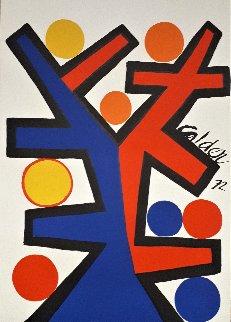 Asymetrie 1972 Limited Edition Print - Alexander Calder