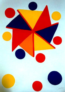 Pinwheel Limited Edition Print by Alexander Calder