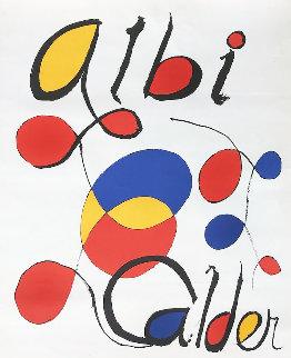 Albi Calder AP 1969 Limited Edition Print - Alexander Calder